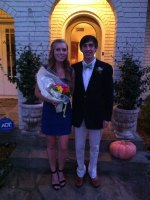 Known this girl since I was born... thanks for coming to Homecoming with me!