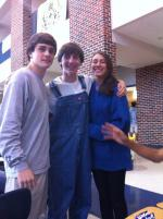 Overalls at school